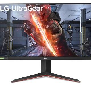 L'écran QHD, 144 Hz, 27 pouces d'LG est à 350 euros
