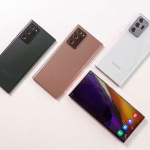 Samsung Galaxy Note20 et Note20 Ultra officialisés : une petite évolution