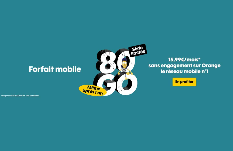 Sosh lance encore un forfait mobile sans prix qui double après un an