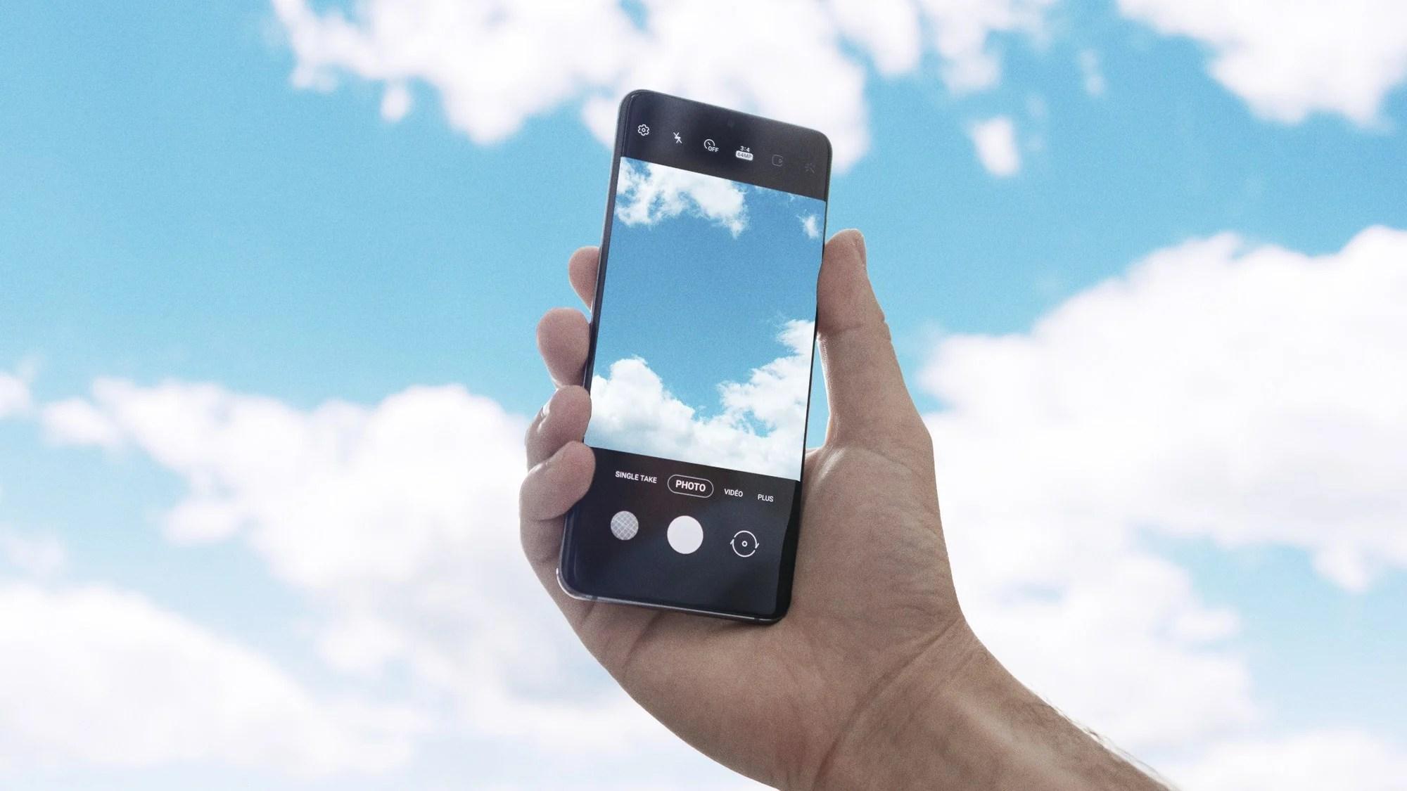 3 fonctionnalités cachées de l'application photo des Samsung GalaxyS20