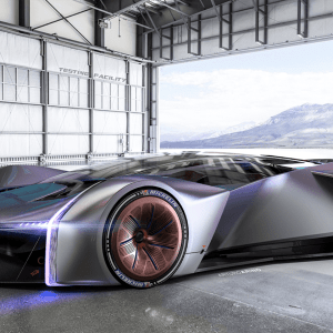 Ford dévoile une voiture de course virtuelle conçue avec les internautes