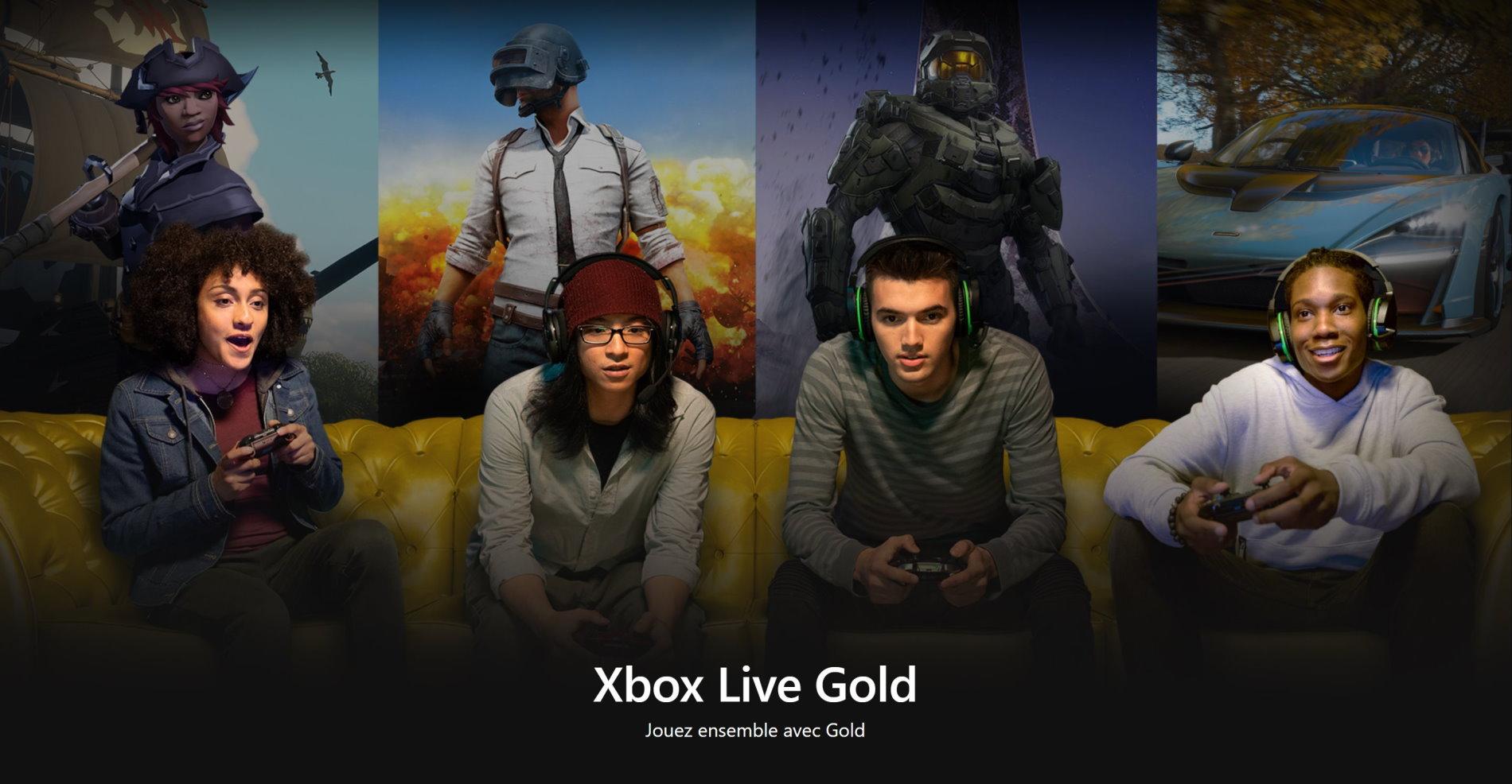 Xbox Live Gold : Microsoft dément tout changement pour l'abonnement payant, pour le moment
