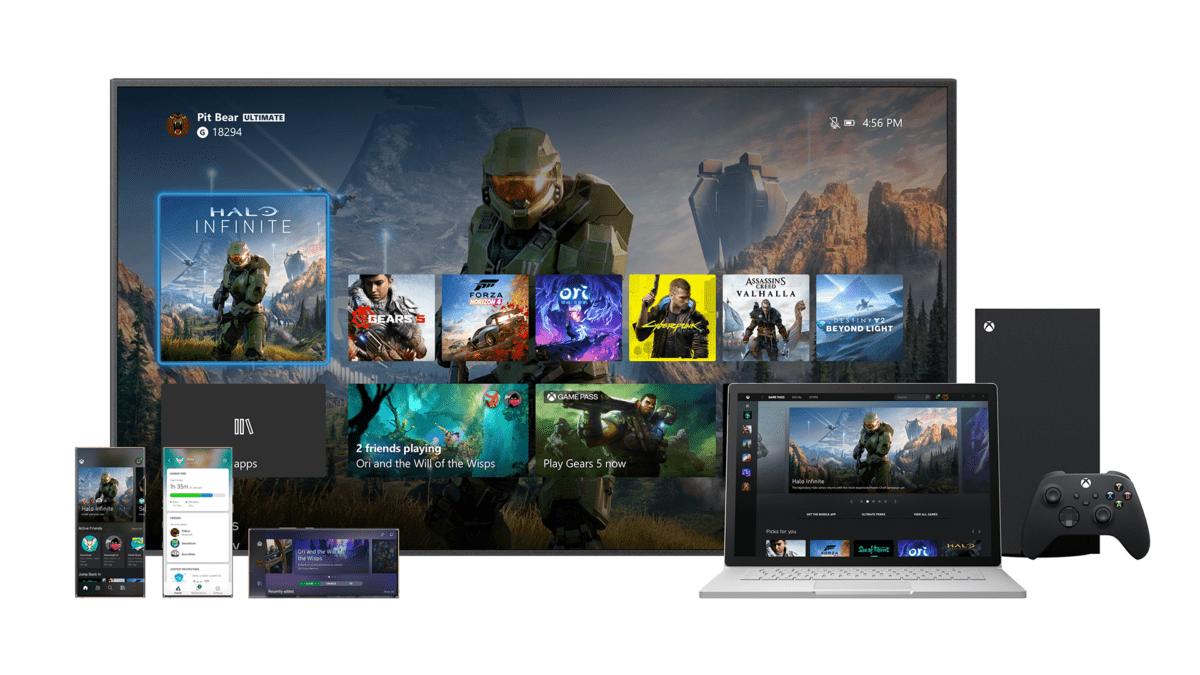 Xbox Series X : la future interface utilisateur se dévoile en vidéo