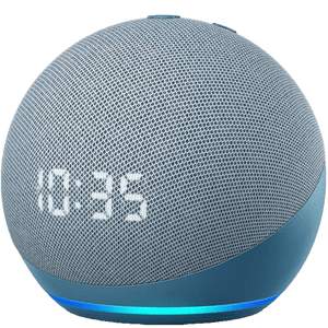 Amazon Echo Dot avec horloge 2020