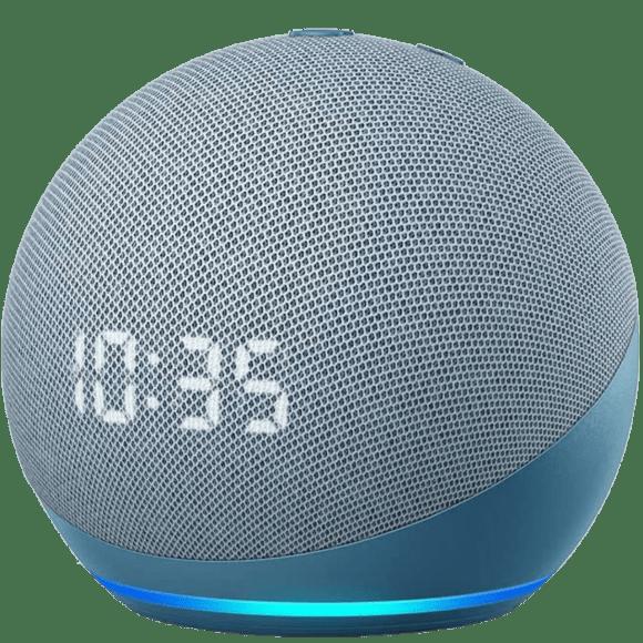 Amazon Echo Dot avec horloge 2020