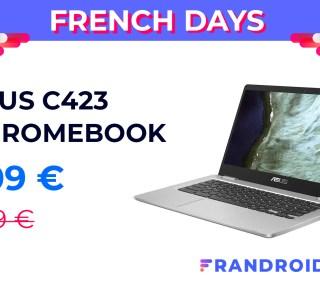 Changez pour Chromebook pendant les French Days avec l'Asus C423 à 309 €