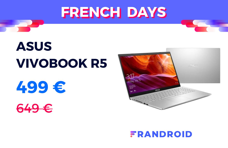 Asus Vivobook : i5 10e gen + SSD 512 Go à moins de 500 € pour les French Days