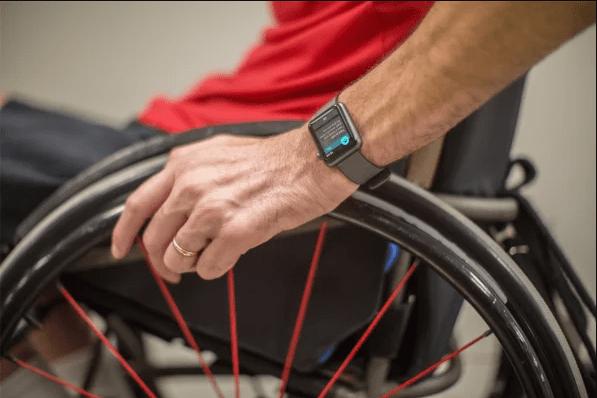 Apple Watch: comment activer les fonctions pour fauteuil roulant?