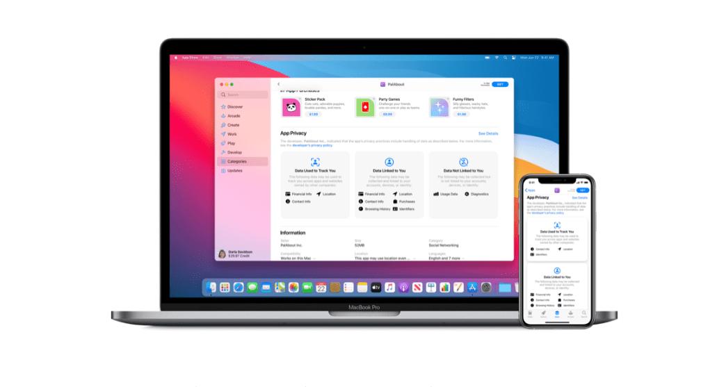App Store: les applications doivent désormais vous dire tout ce qu'elles savent sur vous