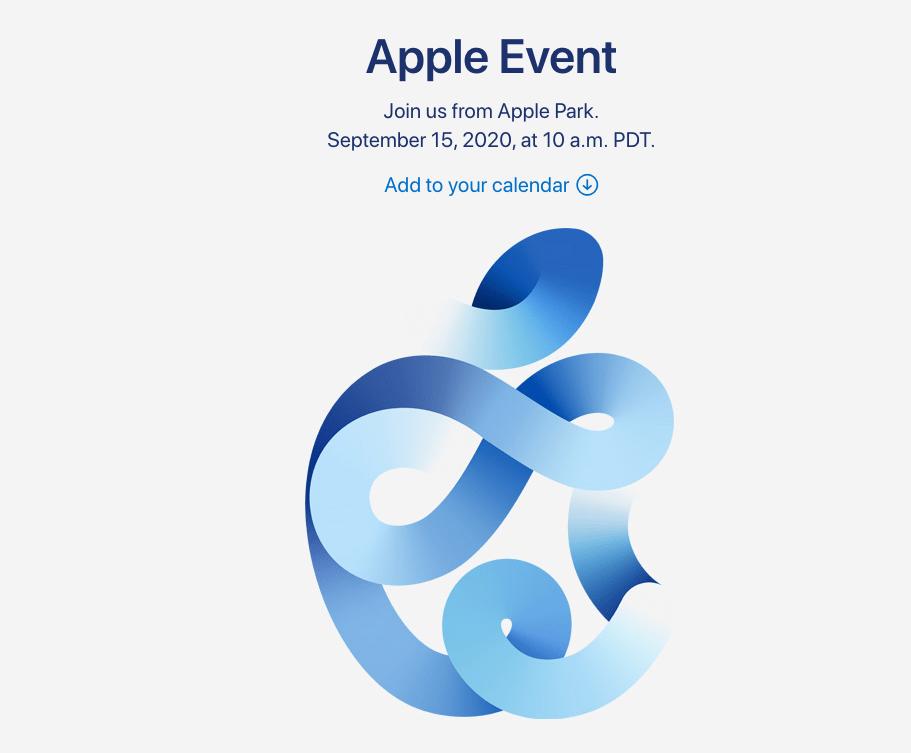Fin du mystère, Apple organise une keynote le 15 septembre