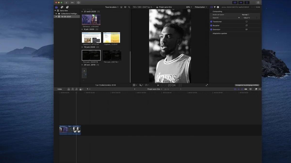 Final Cut Pro : comment monter des vidéos au format vertical
