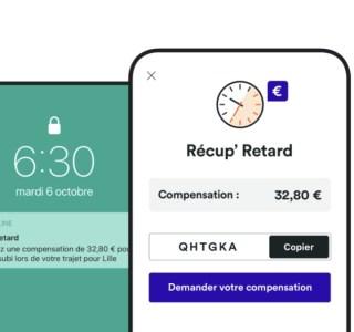 L'application Trainline vous aide à être remboursé si votre train est en retard
