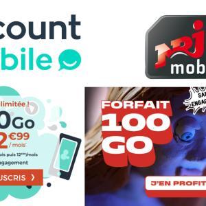 Forfaits mobiles : 30 Go ou 100 Go de 4G pour 2,99 euros et 9,99 euros par mois