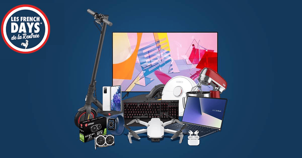 French Days Rue du Commerce : les 5 meilleures offres Tech disponible maintenant