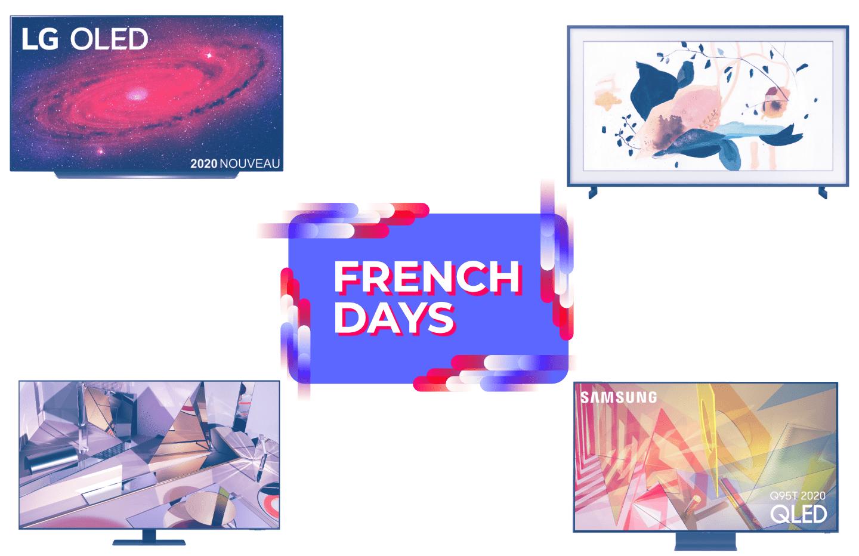 Voici notre TOP 5 des bons plans TV 4K et 8K disponibles durant les French Days