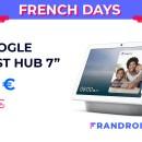 Le Google Nest Hub descend à 70 euros pour les French Days