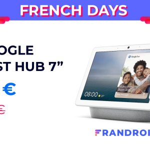 Le Google Nest Hub descend à 70 euros pour les French Days