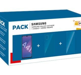 Ce pack Samsung Galaxy A41 est de nouveau 70 € moins cher à la Fnac