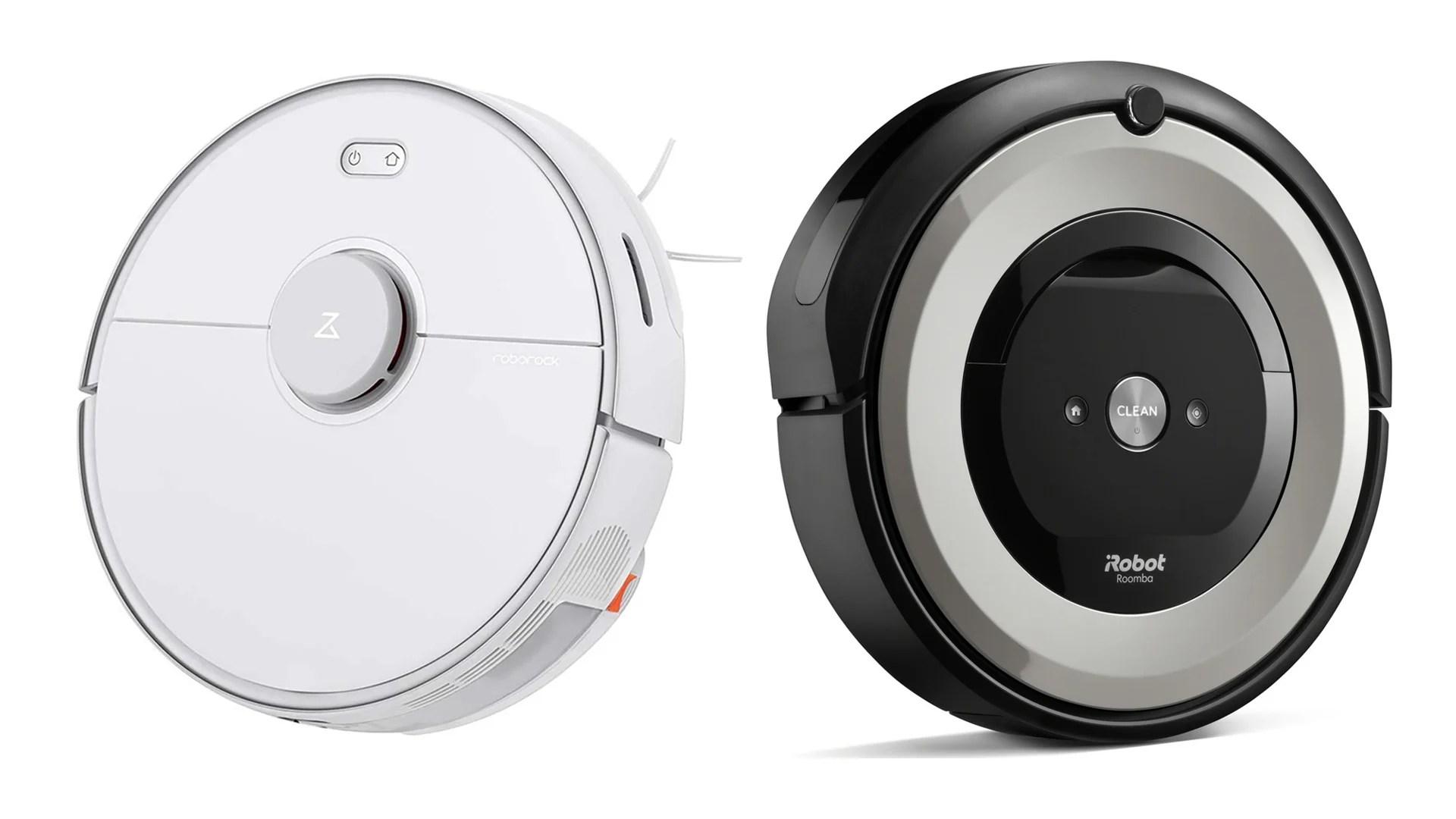 Roborock S5 Max ou iRobot Roomba e5154 : quel aspirateur robot en promo choisir pour moins de 350 euros ?
