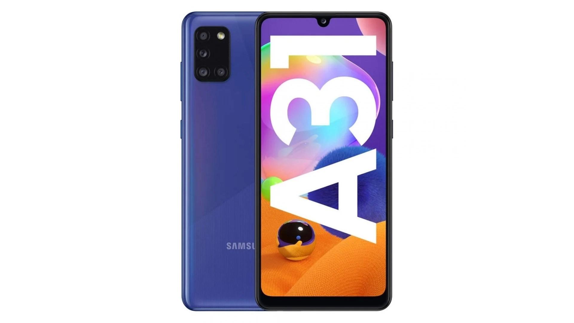 Le nouveau Galaxy A31 tombe à 260 euros : l'expertise Samsung à petit prix