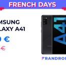 Le Samsung Galaxy A41 passe à moins de 220 euros pour les French Days