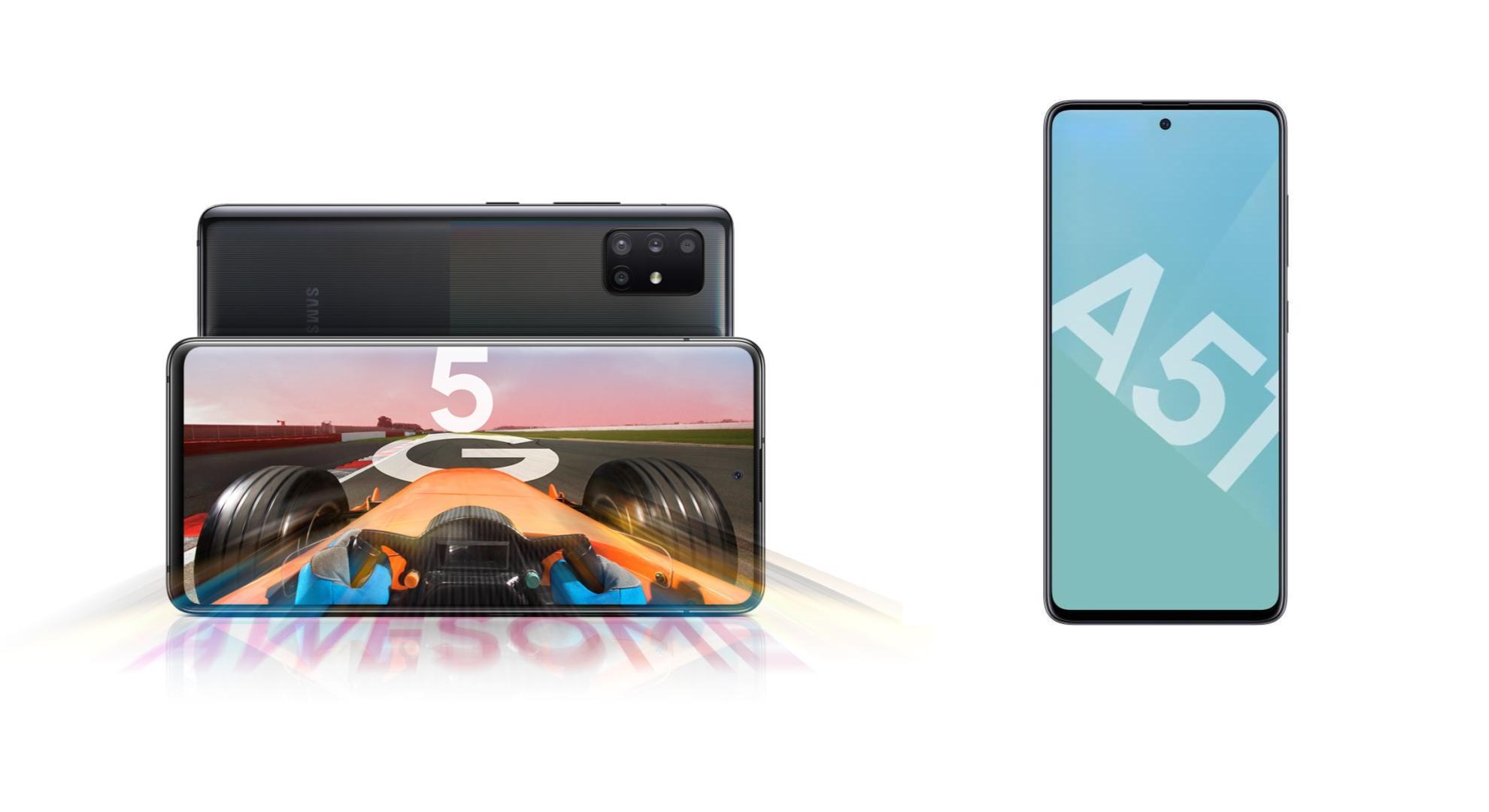 Le très équilibré Samsung Galaxy A51 est à 299 euros, et à 399 en 5G