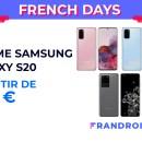 La gamme Samsung Galaxy S20 est en forte promotion pour les French Days