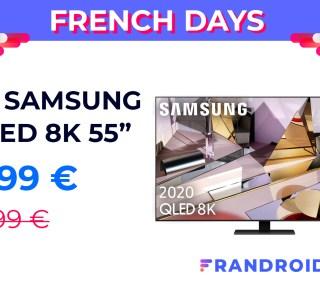Le téléviseur QLED 8K 55 pouces de Samsung est à moins de 2 000 euros