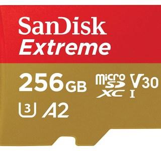 L'ultra performante carte microSD 256 Go de SanDisk est à moitié prix