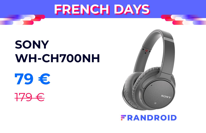 Un casque avec réduction de bruit active pour moins de 80 € lors des French Days