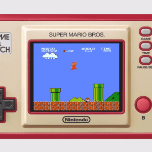Pour les 35 ans de Super Mario Bros, Nintendo ressort une console Game and Watch