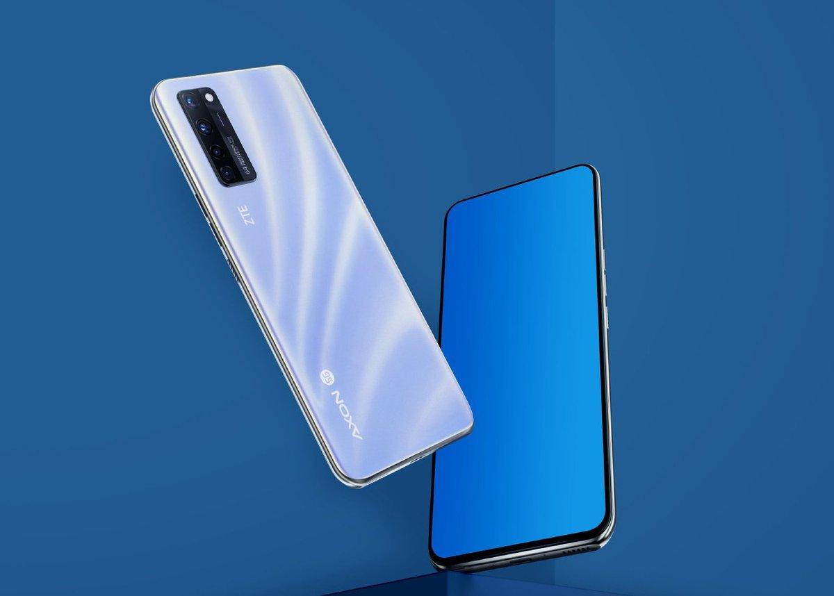 ZTE Axon 20 5G officialisé : voici le premier smartphone avec caméra sous l'écran