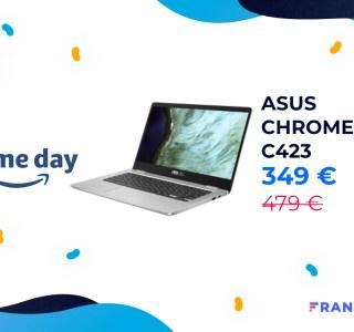 Le Chromebook Asus C423 baisse encore de prix pendant le Prime Day