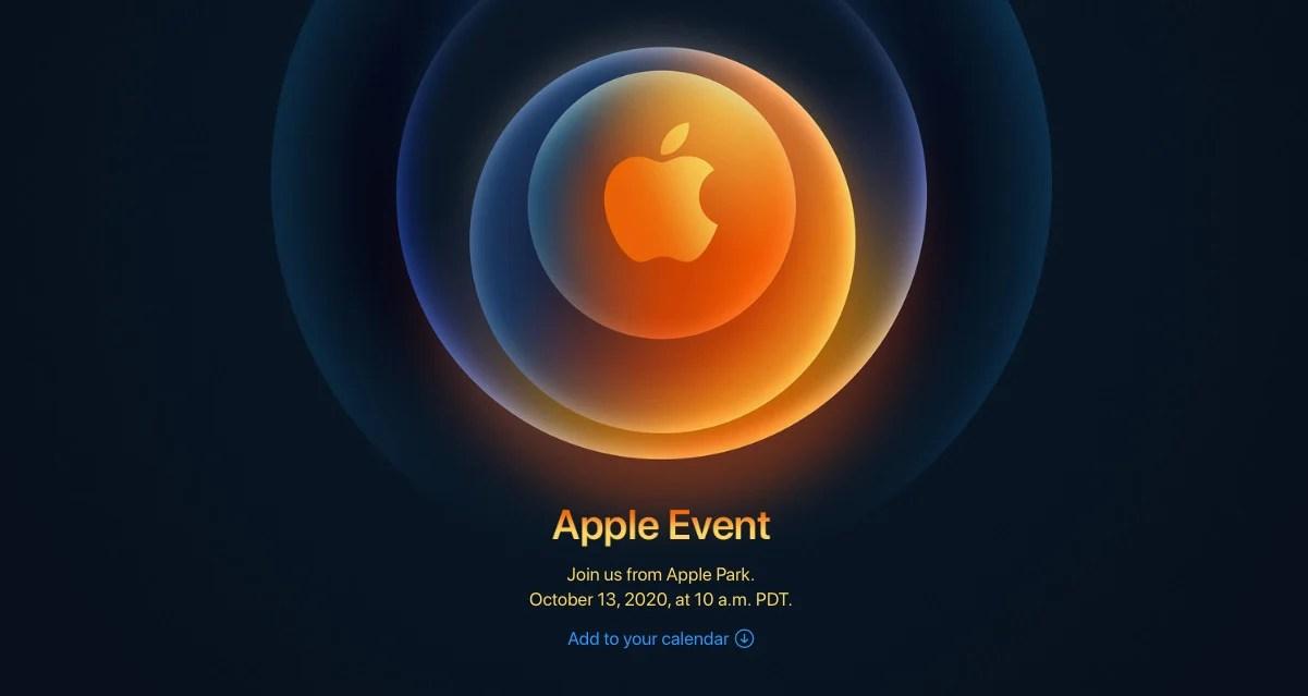 iPhone12: la présentation arrive à toute vitesse le 13octobre