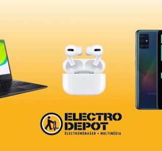 Samsung Galaxy A51, Airpods Pro, PC portable : Electro Dépôt baisse le prix de ses nouveaux arrivages