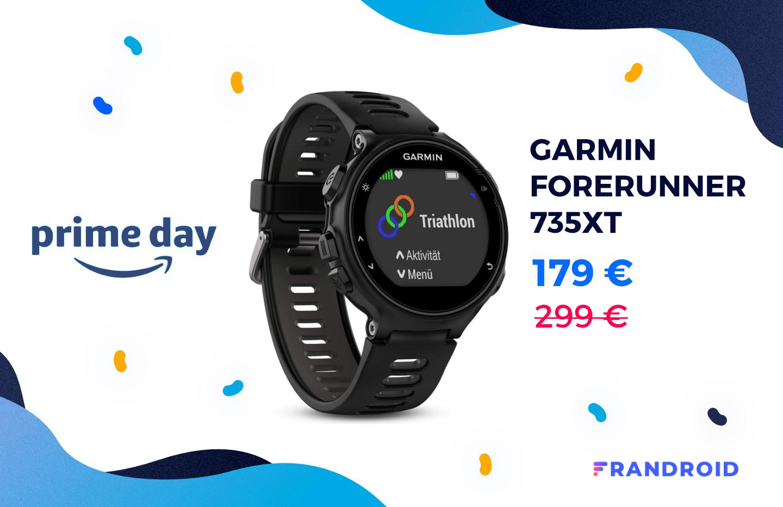 La montre connectée Garmin Forerunner 735XT est bradée pour le Prime Day