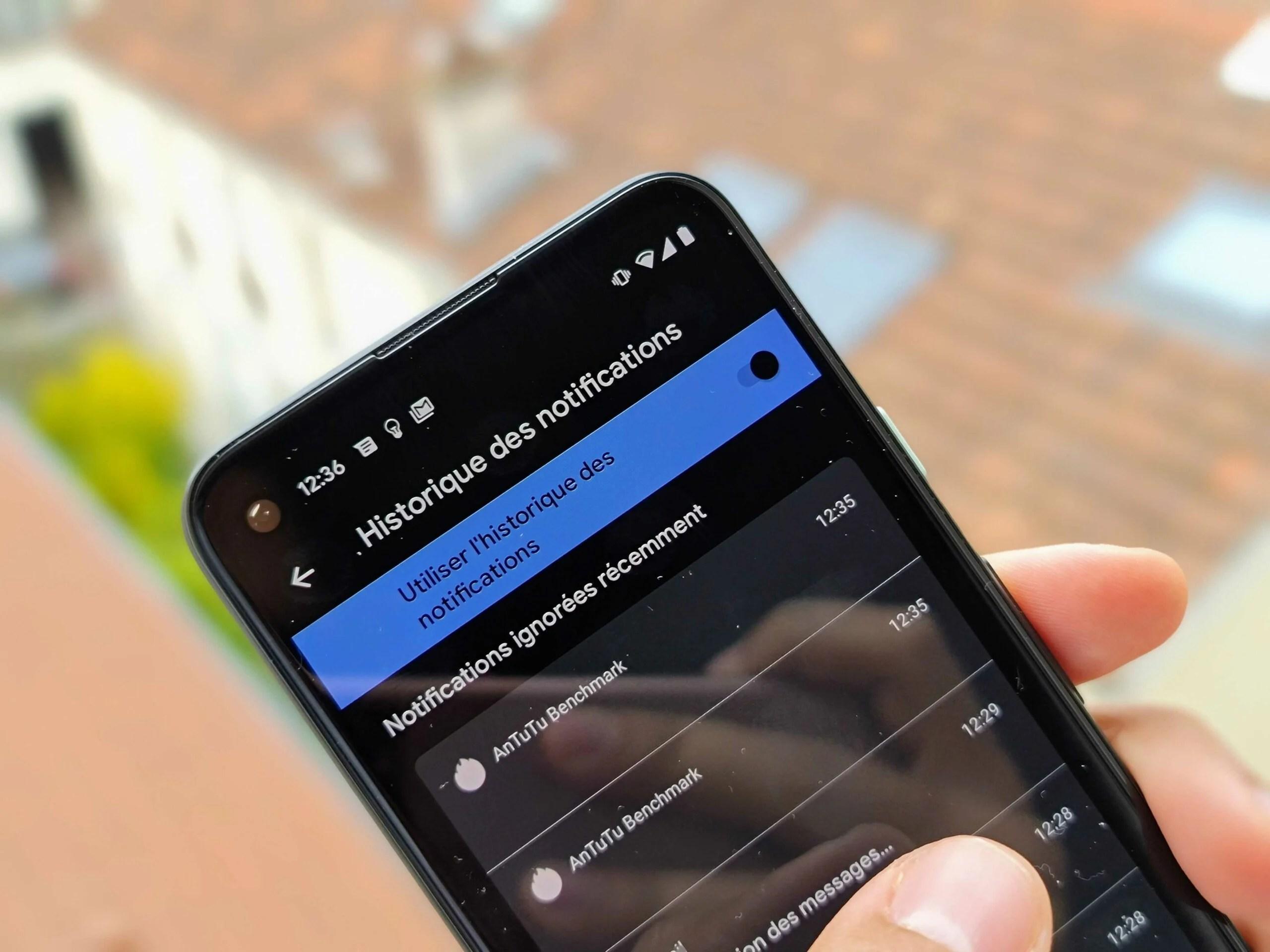 Comment voir l'historique de vos notifications sur Android 11