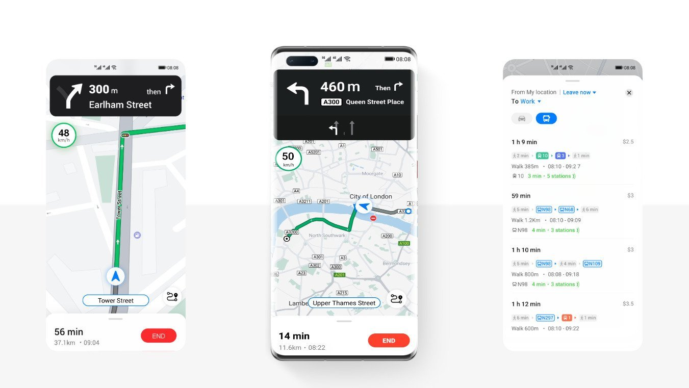 Huawei Petal Maps en France : l'alternative de Google Maps devient plus efficace pour vous guider