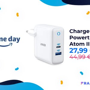 Le chargeur Anker PowertPort+ Atom III jusqu'à 60 W chute à 27 euros