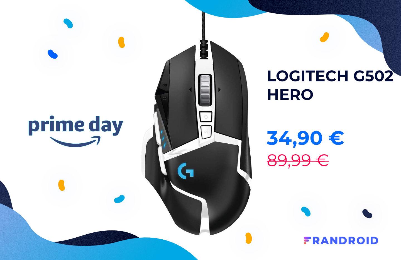 La souris gaming de référence Logitech G502 Hero est à – 61% sur Amazon