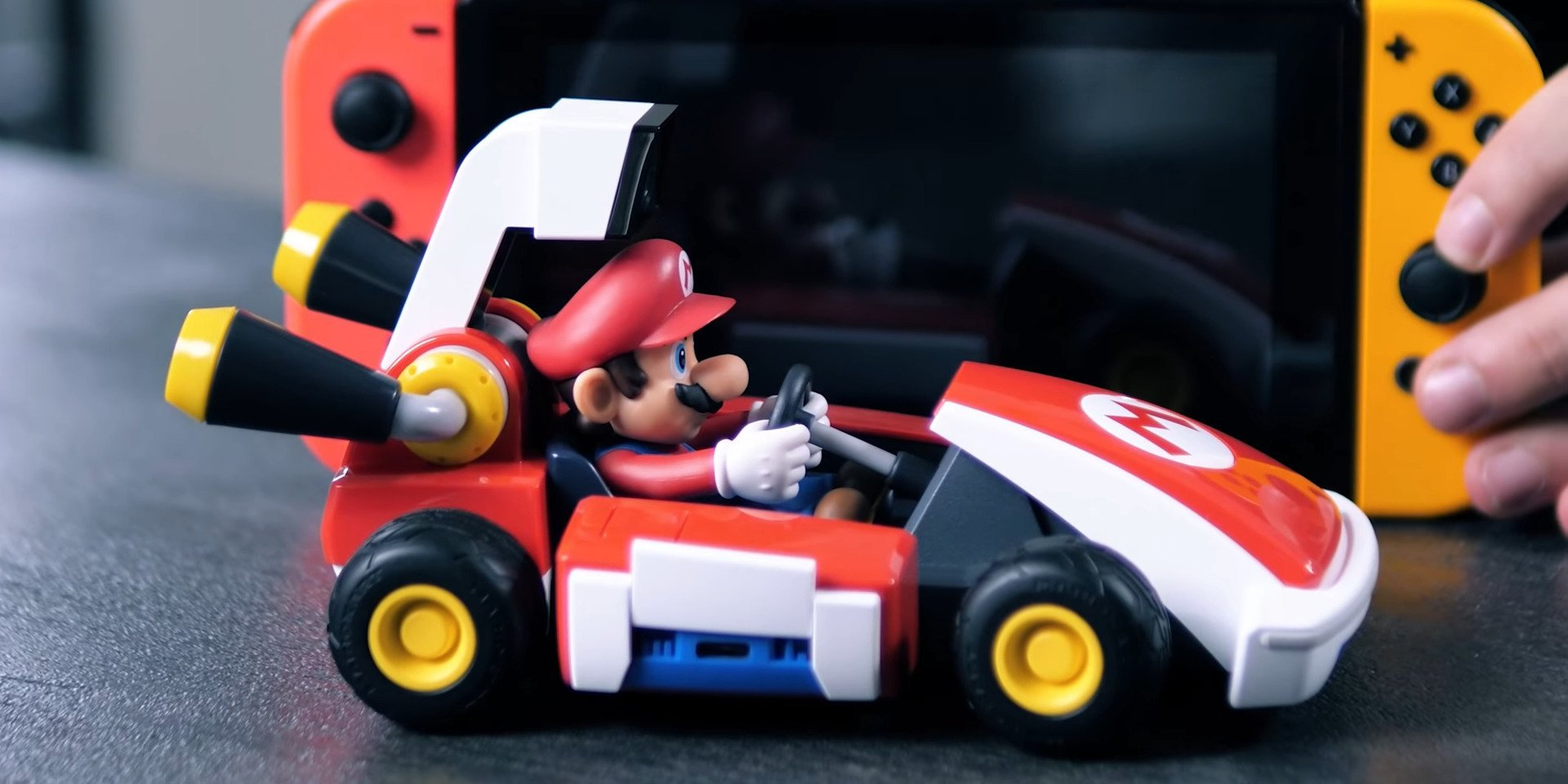 Mario Kart Live Home Circuit : on a transformé la rédaction en piste de course
