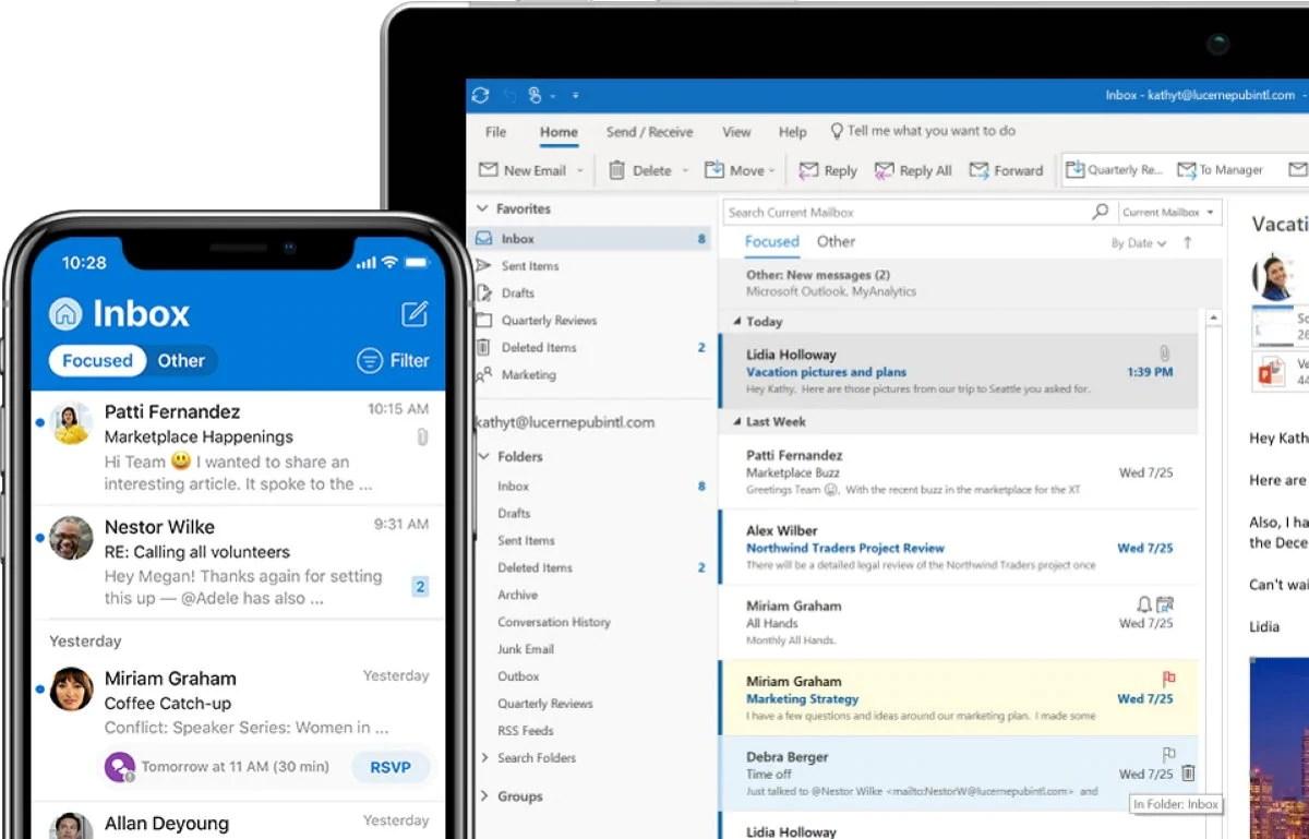 Microsoft Outlook : une panne mondiale en cours de résolution
