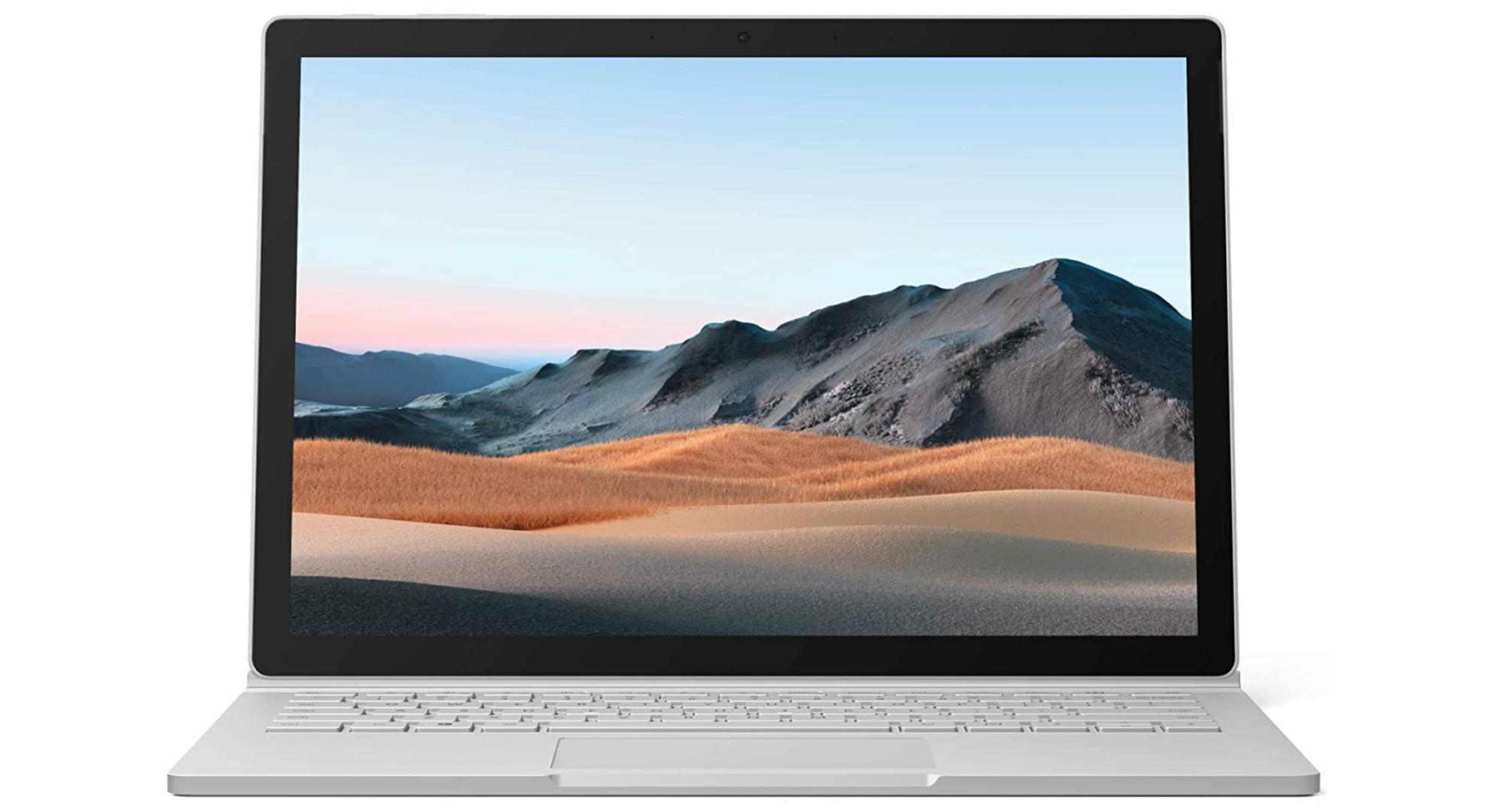 Jusqu'à 700 € de réduction sur différents modèles du Microsoft Surface Book 3