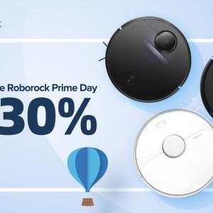 Prime Day: jusqu'à 30% de remise sur les aspirateurs-robots Roborock