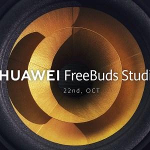 Huawei s'apprête à dévoiler son premier casque audio, le FreeBuds Studio