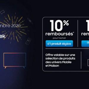 Samsung Blue Week: jusqu'à 20% de remise sur les meilleurs produits Samsung