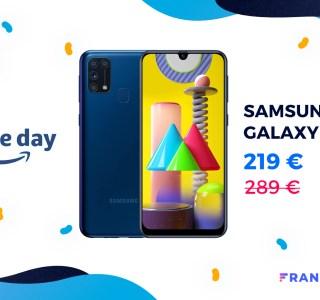 C'est 70 € de réduction pour le Samsung Galaxy M31 grâce au Prime Day