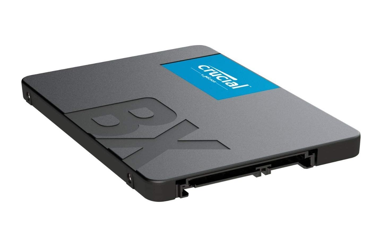 48 euros : c'est le super prix du SSD Crucial BX500 avec 480 Go de stockage