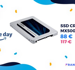 Le Prime Day propose un stockage ultra rapide à 0,09€/Go avec le SSD CrucialMX500 1To