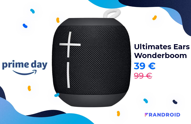 L'enceinte UE Wonderboom est au prix plancher de 39 € pour le Prime Day
